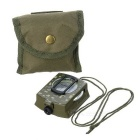 AoTu AT7592 Multifunction American Army Analog Compass - Green