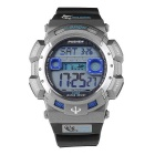 Pasnew PLG-1002D Outdoor Waterproof Electronic Watch -Black + Silver