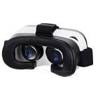 Virtual Reality VR 3D Video Helmet Glasses - Black + White