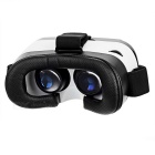 Virtual Reality 3D Glasses + Bluetooth Controller - Black + White
