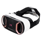 VR BOX Virtual Reality 3D Video Helmet Glasses - Rose Gold + Black