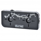 Rechargeable Mini Cassette Style Portable MP3 Speaker with FM/TF Slot - Black