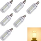 YouOKLight E14 4W LED Corn Bulb Lamp Warm White 56-SMD 5730 (6PCS)