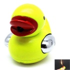 Creative Cute Duck Shaped Butane Gas Lighter - Yellow + Red