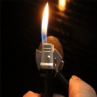 Novelty Tool Shaped Refillable Butane Gas Lighter - Black
