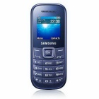 Samsung E1200Y 1.52-inch Colored Screen Mobile Phone - Blue