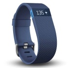 Fitbit Charge HR Wireless Activity Wristband Blue Large