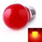 E27 3W 9-SMD 2835 LED 210lm Red Light Globe Bulb Lamp - Red (AC 220V)