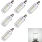 YouOKLight E14 4W LED Corn Bulb Lamps Cool White 69-SMD 5730 (6PCS)