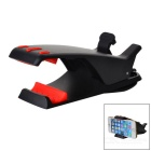 Hippo Design 360' Rotatable Phone Holder Clip - Black + Red