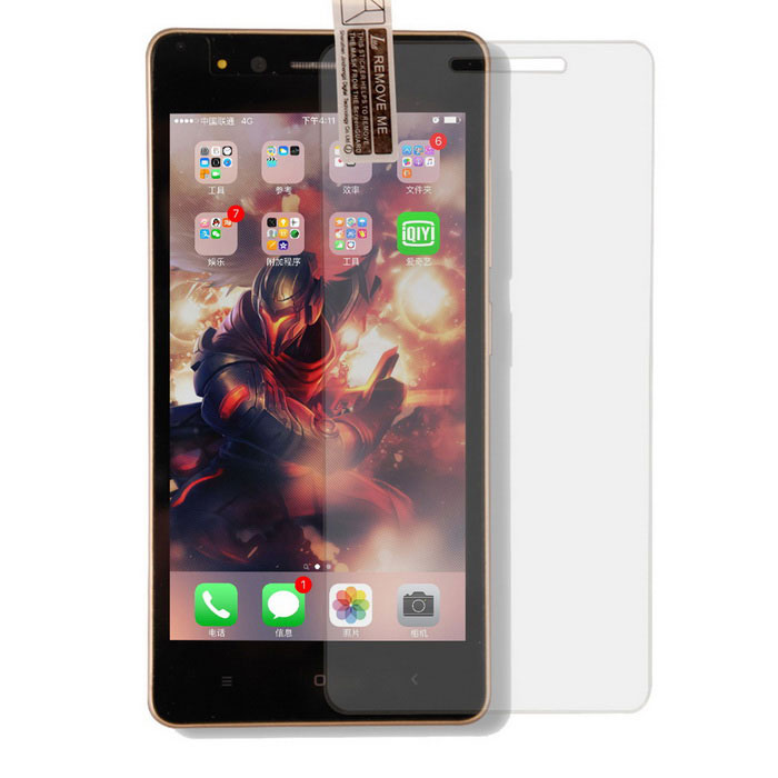 TOCHIC Tempered Glass Screen Protector for VKworld F1 - Transparent