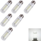 YouOKLight E27 4W LED Corn Bulb Lamps Cool White 69-SMD 5730 (6PCS)