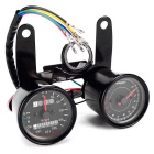 Universal Speed Meter Monitor with LED Luminous, 0~13000rpm, 0~160km / hour