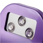 Mini Portable 100 ~ 240V 6W LED Finger Nail Herdelampe Machine - Purple