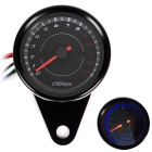 B719 Universal Motorcycle Instrument Modified Tachometer - Black
