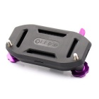 Lotopop Backpack Clip Fast Clamp Mount for Gopro - Purple