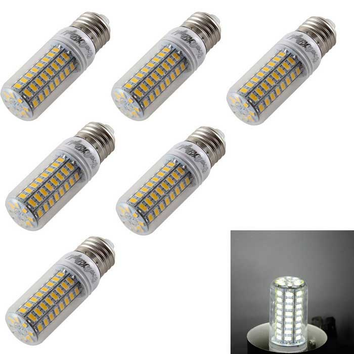 YouOKLight E27 4.5W LED Corn Bulb Lamps Cold White 72-SMD 5730 (6PCS)