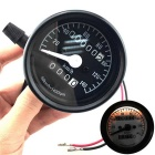 IZTOSS B732 12V Motorcycle LED Odometer - Black