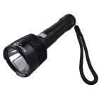 RichFire SF-391 5V USB Input LED Neutral White Flashlight - Black