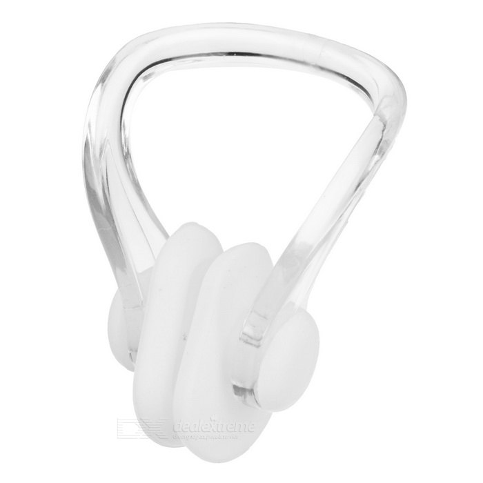 Sports Swimming Nose Clip + Ear Plugs Set - White