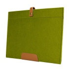 "Wool Felt Inner Bag + Accessory Bag for Air / Pro 13.3"" - Olive Green"
