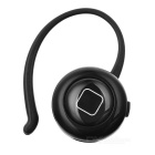 Mini Wireless Bluetooth V4.0 Earphone w/ Mic, Camera Button  - Black