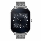 "ASUS ZenWatch 2 Android Wear Smartwatch - 1.45"", Silver Metal band"