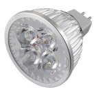 YouOKLight MR16 4W Dimmable 4-LED Spotlight Cold White (DC 12V/6PCS)