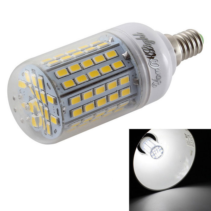 YouOKLight E14 5.5W LED Corn Bulb Cool Light 96-SMD 5730 (AC 220-240V)