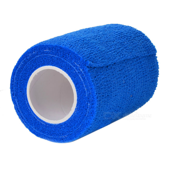 Medical Non Woven Self Adhesive Bandage - Blue (7.5cm*5.3m)