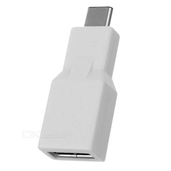 Mini USB 3.0 to USB 3.1 Type-C Converter Adapter - White