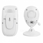 "2,4 ""TFT LCD 8-LED Wireless Digital Video Baby Monitor - белый + черный"