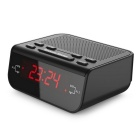Buy Compact Digital Alarm Clock FM Radio Dual Buzzer Snooze Sleep Function Red LED
