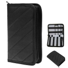 Hugmania Outdoor Travel Portable Storage Bag - Gray + Black