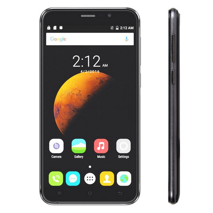 "CUBOT DINOSAUR Android 6.0 4G Phone w/ 5.5"", 3GB RAM,16GB Black + grey"