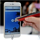 2.4GHz USB Wireless Optical Laser Pen & Mouse & Stylus - Red