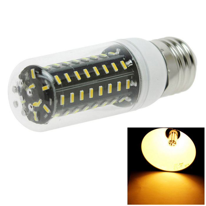 HONSCO E27 8W 72-4014 SMD LED Warm White Corn Bulb Light (AC 220V)