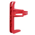 Yongruih Mountain Bike Sykkel Vannflaske Cage Rack Holder - Rød