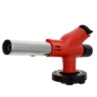 Portable Outdoor Cooking Butane Gas Blowtorch - Black + Red