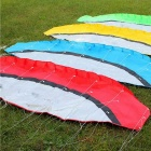 Outdoor Sports 2.5m Soft Dual Line Stunt Parafoil Kite Kit - Green