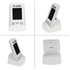 "2.0"" LCD 2.4GHz Digital Technology Video Baby Monitor - White + Black"