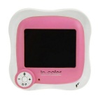 IN-Color Digital Wireless Video Baby Monitor - White + Pink