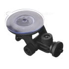 52mm Car Suction Cup Mount Tripod Holder - Black