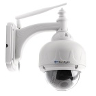 SunEyes SP-V706W Wireless PTZ Dome IP Camera Auto Focus - White (UK)