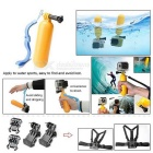 Popular Sports Camera Accessories Kit for GoPro Hero/SJCAM/ Xiaoyi