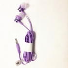 Original Xiaomi Basic Version 3.5mm In-Ear Earphones w/ Mic - Purple