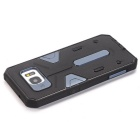TPU + PC Back Case for Samsung Galaxy S7 Edge - Black + Navy Blue