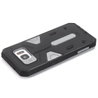 TPU + PC Back Case for Samsung Galaxy S7 Edge - Black + Gray