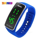 SKMEI Outdoor Sports Timing LED Watch - Blue (1 * CR1225)