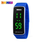 SKMEI 1119 50m à prova d'água sincronismo SPortass LED Watch - Azul (1 * CR1220)